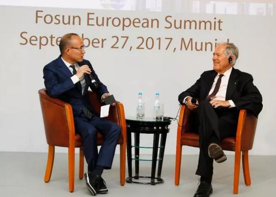 郭广昌对话罗兰贝格:做企业的人必须要乐观